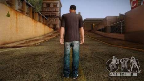 Gedimas Wmybar Skin HD para GTA San Andreas segunda tela