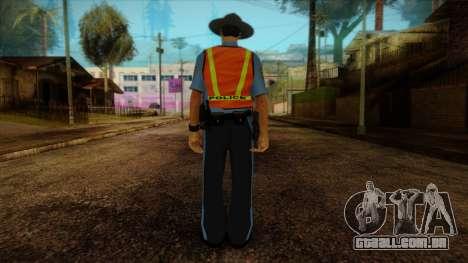 Missouri Highway Patrol Skin 1 para GTA San Andreas segunda tela