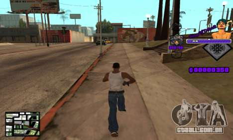 C-HUD King Of Detroit para GTA San Andreas terceira tela