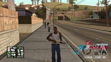C-HUD by SampHack v.19 para GTA San Andreas