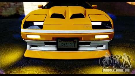GTA 5 Ruiner Tuning para GTA San Andreas traseira esquerda vista