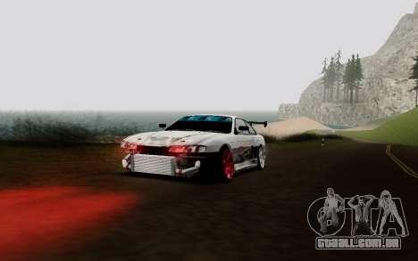 Nissan Silvia S14 VCDT V2.0 para GTA San Andreas vista interior