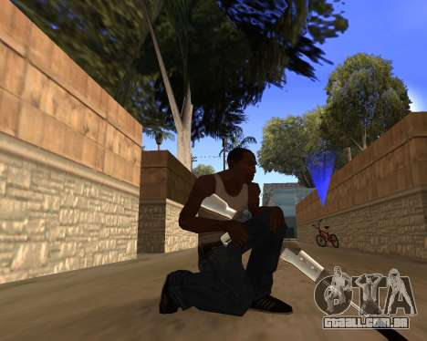 Clear weapon pack para GTA San Andreas por diante tela