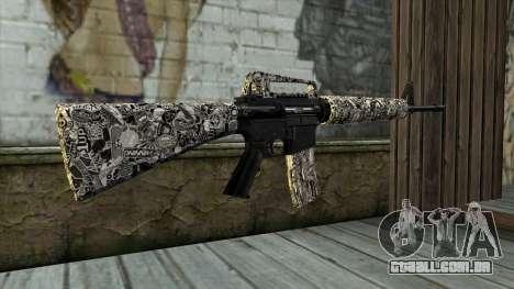 Novo Fuzil De Assalto para GTA San Andreas segunda tela
