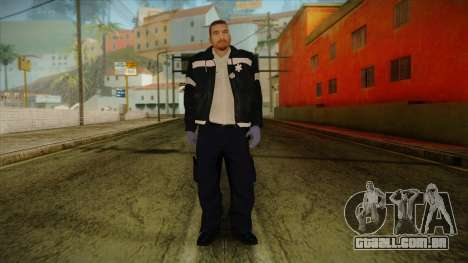 GTA 4 Emergency Ped 12 para GTA San Andreas