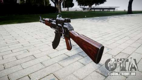 A AK-47 Colimador de destino para GTA 4 segundo screenshot