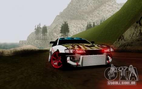 Nissan Silvia S14 VCDT V2.0 para vista lateral GTA San Andreas