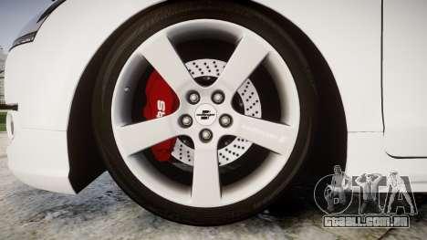 Audi TT RS 2010 para GTA 4 vista de volta
