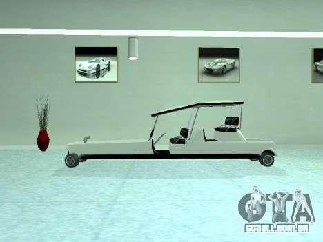 Limgolf para GTA San Andreas vista direita