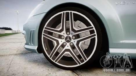 Mercedes-Benz S65 W221 AMG v2.0 rims1 para GTA 4 vista de volta