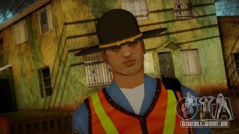 Missouri Highway Patrol Skin 1 para GTA San Andreas terceira tela