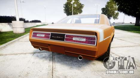 Declasse Tampa 1976 v2.0 para GTA 4 traseira esquerda vista