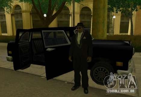 Cabbie Restyle para GTA San Andreas vista direita