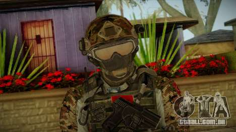 Army Skin 2 para GTA San Andreas terceira tela