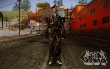 Soldier Skin 2 para GTA San Andreas