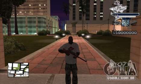 C-HUD Shark para GTA San Andreas segunda tela
