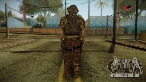 Army Skin 2 para GTA San Andreas segunda tela