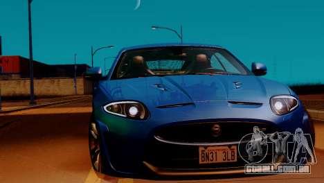 ENBSeries para PC fraco v4 para GTA San Andreas por diante tela