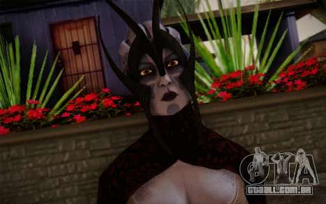 Benezia Beta Final from Mass Effect para GTA San Andreas terceira tela