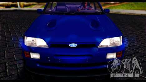 Ford Escort RS Cosworth para GTA San Andreas vista direita