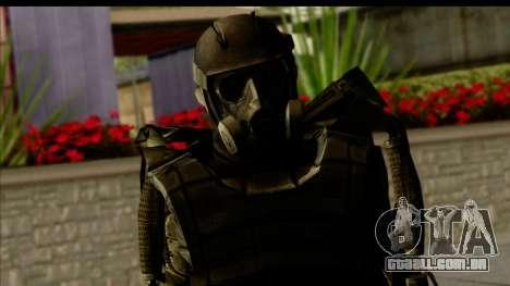 Stalkers Exoskeleton para GTA San Andreas terceira tela