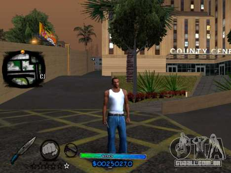 C-HUD COOL para GTA San Andreas terceira tela