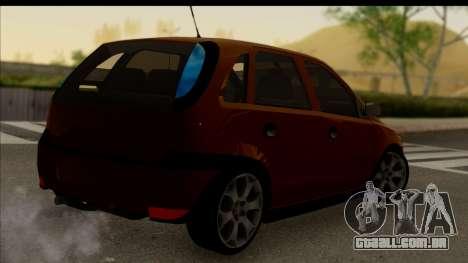 Opel Corsa C Sport para GTA San Andreas esquerda vista