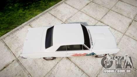 Pontiac GTO 1965 united para GTA 4 vista direita