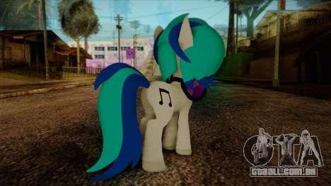 Vinyl Scratch from My Little Pony para GTA San Andreas segunda tela