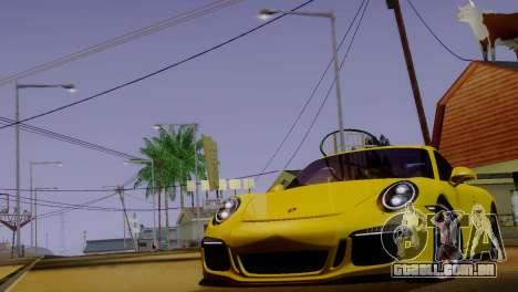 ENBSeries para PC fraco v4 para GTA San Andreas segunda tela