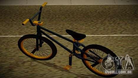 BMX Life edition para GTA San Andreas traseira esquerda vista