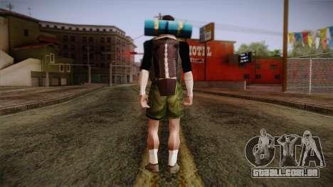GTA San Andreas Beta Skin 18 para GTA San Andreas segunda tela