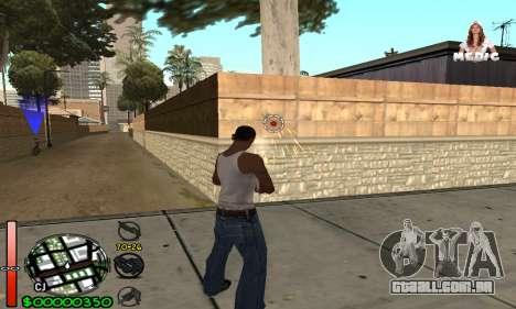 С-HUD Medic para GTA San Andreas segunda tela