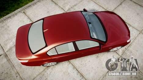 BMW 525d E60 2006 para GTA 4 vista direita