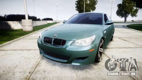 BMW M5 E60 v2.0 Stock rims para GTA 4