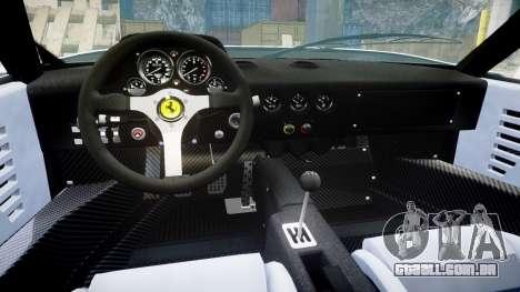 Ferrari F40 1987 [EPM] Jolly Club para GTA 4 vista interior