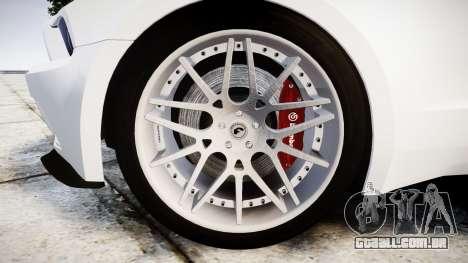 Ford Mustang GT Tobey Marshall para GTA 4 vista de volta