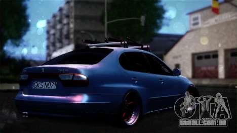Seat Toledo Stance 2002 para GTA San Andreas esquerda vista
