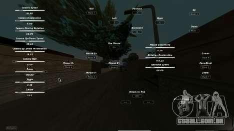CumHunt - plugin para o vídeo para GTA San Andreas segunda tela