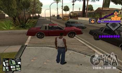 C-HUD King Of Detroit para GTA San Andreas