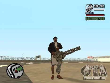 Dupla de posse de todas as armas para GTA San Andreas por diante tela