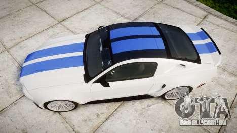 Ford Mustang GT Tobey Marshall para GTA 4 vista direita