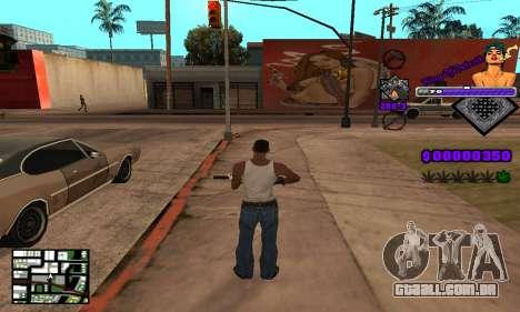 C-HUD King Of Detroit para GTA San Andreas quinto tela
