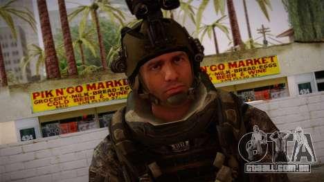 Modern Warfare 2 Skin 5 para GTA San Andreas terceira tela