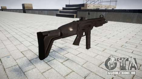 Arma SMT40 para GTA 4 segundo screenshot
