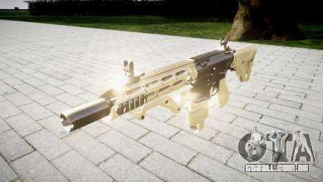 Rifle AR-15 CQB para GTA 4