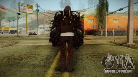 Alex Boss Hammerfist from Prototype 2 para GTA San Andreas segunda tela