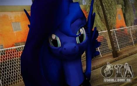 Princess Luna from My Little Pony para GTA San Andreas terceira tela