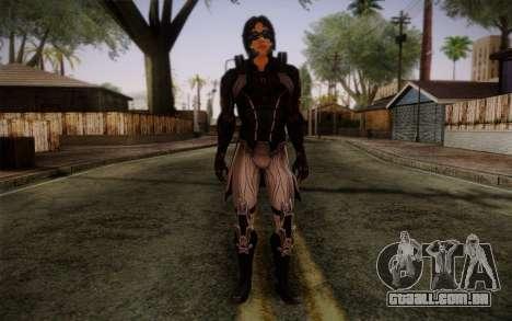 Kei Leng from Mass Effect 3 para GTA San Andreas