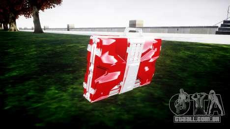 Iron Man Mark V Briefcase v1.1 para GTA 4 segundo screenshot